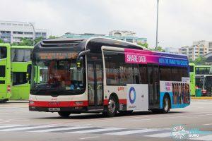 Bus 912A - SMRT Buses MAN A22 (SMB262X)
