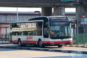 Off Service - SMRT Buses MAN A22 (SMB269C)