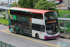 Bus 196 - SBS Transit Volvo B9TL Wright (SBS3020Z)