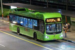 Bus 59 - SBS Transit Volvo B5LH (SG3020K)