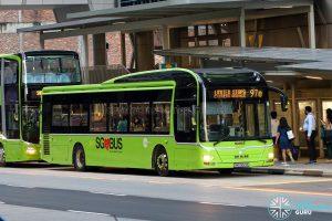 Express 97e - Tower Transit MAN A22 (SMB3021E)