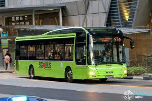 Express 97e - Tower Transit MAN A22 (SMB3021E) [Hari Raya]