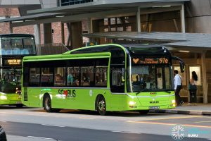 Express 97e - Tower Transit MAN A22 (SMB3021E) [Kindness Day]