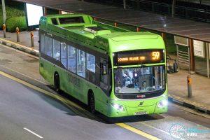 Bus 59 - SBS Transit Volvo B5LH (SG3022E)
