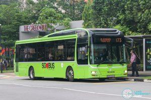 Bus 173 - Tower Transit MAN A22 (SMB3026S)