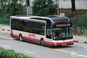 Bus 855 - SMRT Buses MAN A22 (SMB303L)
