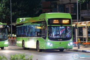 Bus 859T - SMRT Buses Volvo B5LH (SG3032B)