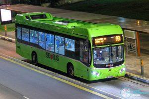 Bus 93 - SBS Transit Volvo B5LH (SG3048G)