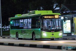 Bus 807 - SBS Transit BYD K9 Gemilang (SG3054M)