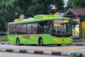 Bus 807B - SBS Transit BYD K9 Gemilang (SG3054M)