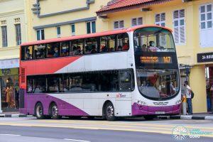 Bus 147 - SBS Transit Volvo B9TL Wright (SBS3057T)