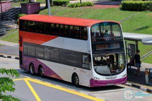 Bus 154 - SBS Transit Volvo B9TL Wright (SBS3078H)