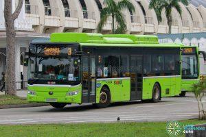 Bus 3 - Go-Ahead Singapore Yutong E12 (SG3095U)