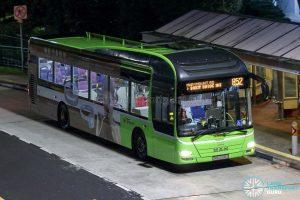 Bus 852 - SBS Transit MAN A22 (SMB3099G)