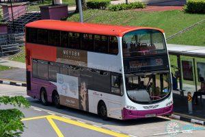 Bus 52 - SBS Transit Volvo B9TL Wright (SBS3128Y)