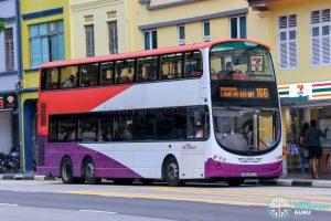 Bus 166 - SBS Transit Volvo B9TL Wright (SBS3137X)