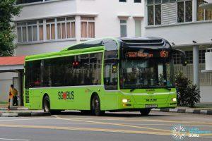 Bus 851 - SBS Transit MAN A22 (SMB3141S)