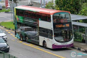 Bus 196 - SBS Transit Volvo B9TL Wright (SBS3147S)