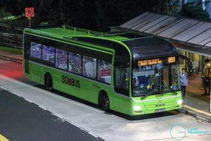 Bus 851 - SBS Transit MAN A22 (SMB3155C)