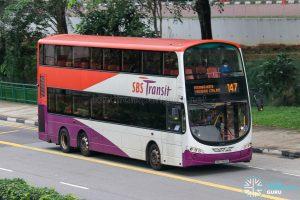 Bus 147 - SBS Transit Volvo B9TL Wright (SBS3160C)