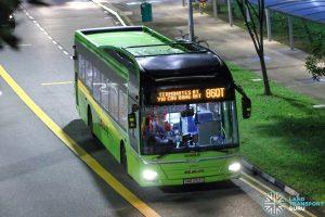 Bus 860T - SBS Transit MAN A22 (SMB3162G)