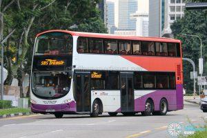 SBS Transit Logo - SBS Transit Volvo B9TL Wright (SBS3167J)