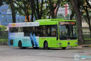 Bus 980 - SMRT Buses Mercedes-Benz OC500LE (SMB33R)