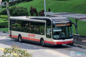 Bus 966 - SMRT Buses MAN A22 (SMB332C)