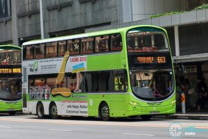 City Direct 663 - Tower Transit Volvo B9TL Wright (SBS3340A)