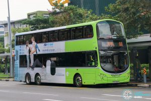 Bus 66 - Tower Transit Volvo B9TL Wright (SBS3361P)