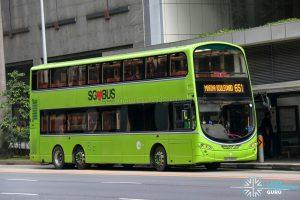 City Direct 651 - Tower Transit Volvo B9TL Wright (SBS3368X)