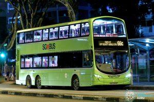 Bus 66C - Tower Transit Volvo B9TL Wright (SBS3390E)