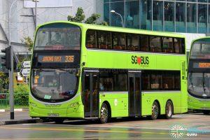 Bus 335 - Tower Transit Volvo B9TL Wright (SBS3394U)