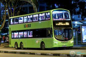 Bus 66C - Tower Transit Volvo B9TL Wright (SBS3416R)