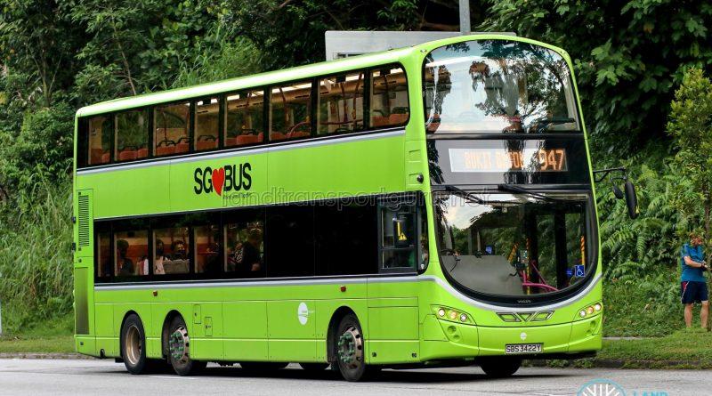 Bus 947 - Tower Transit Volvo B9TL Wright (SBS3422Y)