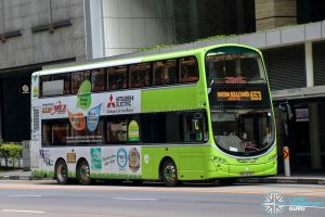 City Direct 653 - Tower Transit Volvo B9TL Wright (SBS3426L)