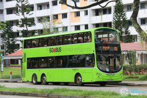 Bus 12 - Go-Ahead Singapore Volvo B9TL Wright (SBS3450R)