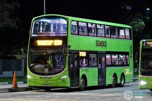 Bus 83T - Go-Ahead Singapore Volvo B9TL Wright (SBS3491Y)