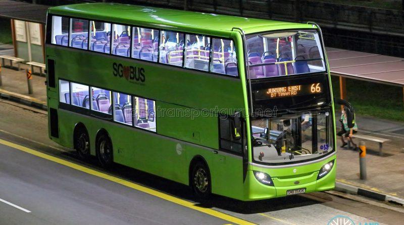 Bus 66 - Tower Transit Alexander Dennis Enviro500 (SMB3510K)