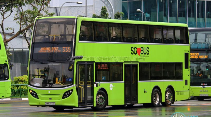 Bus 335 - Tower Transit Alexander Dennis Enviro500 (SMB3517S)