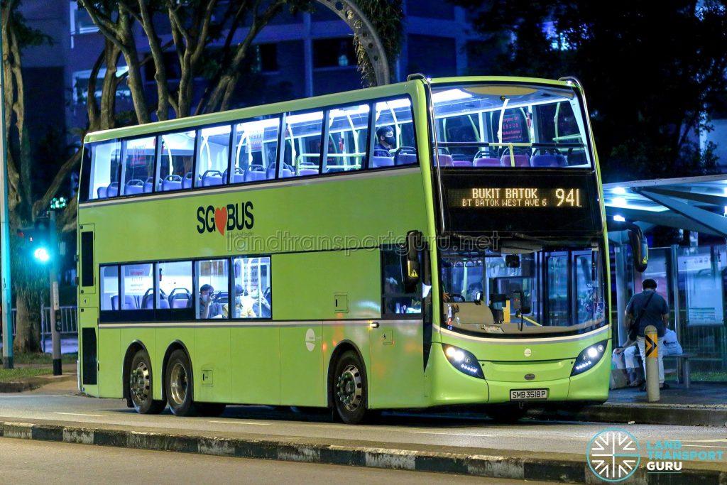 Bus 941 - Tower Transit Alexander Dennis Enviro500 (SMB3518P)
