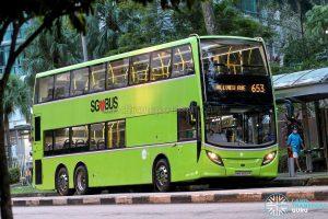 City Direct 653 - Tower Transit Alexander Dennis Enviro500 (SMB3552P)