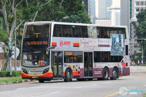 City Direct 652 - SMRT Buses Alexander Dennis Enviro500 (SMB3586S)