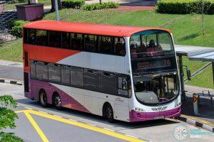 Bus 74 - SBS Transit Volvo B9TL Wright (SBS3606J)