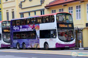 Bus 65 - SBS Transit Volvo B9TL Wright (SBS3679Z)