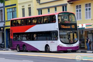 Bus 65 - SBS Transit Volvo B9TL Wright (SBS3700U)