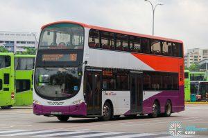 Bus 161 - SBS Transit Volvo B9TL Wright (SBS3718U)
