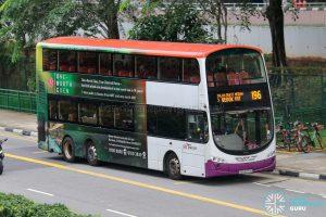 Bus 196 - SBS Transit Volvo B9TL Wright (SBS3773J)
