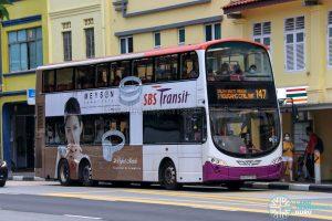 Bus 147 - SBS Transit Volvo B9TL Wright (SBS3775D)