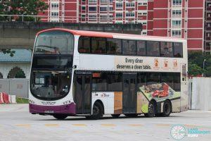 Bus 58 - SBS Transit Volvo B9TL Wright (SBS3885U)